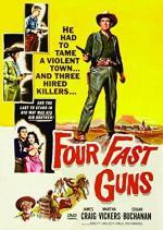 Cuatro pistoleros rápidos