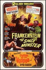 Frankenstein contra el monstruo del espacio