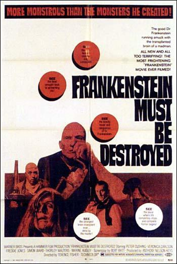 Frankenstein Must Be Destroyed [1969] [1080p] [Latino-Ingles] [MEGA]