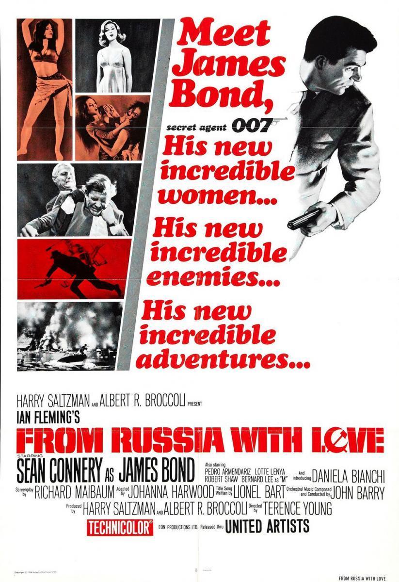 Desde Rusia con amor (1963)[Latino][1080p][Mega](Subida propia)
