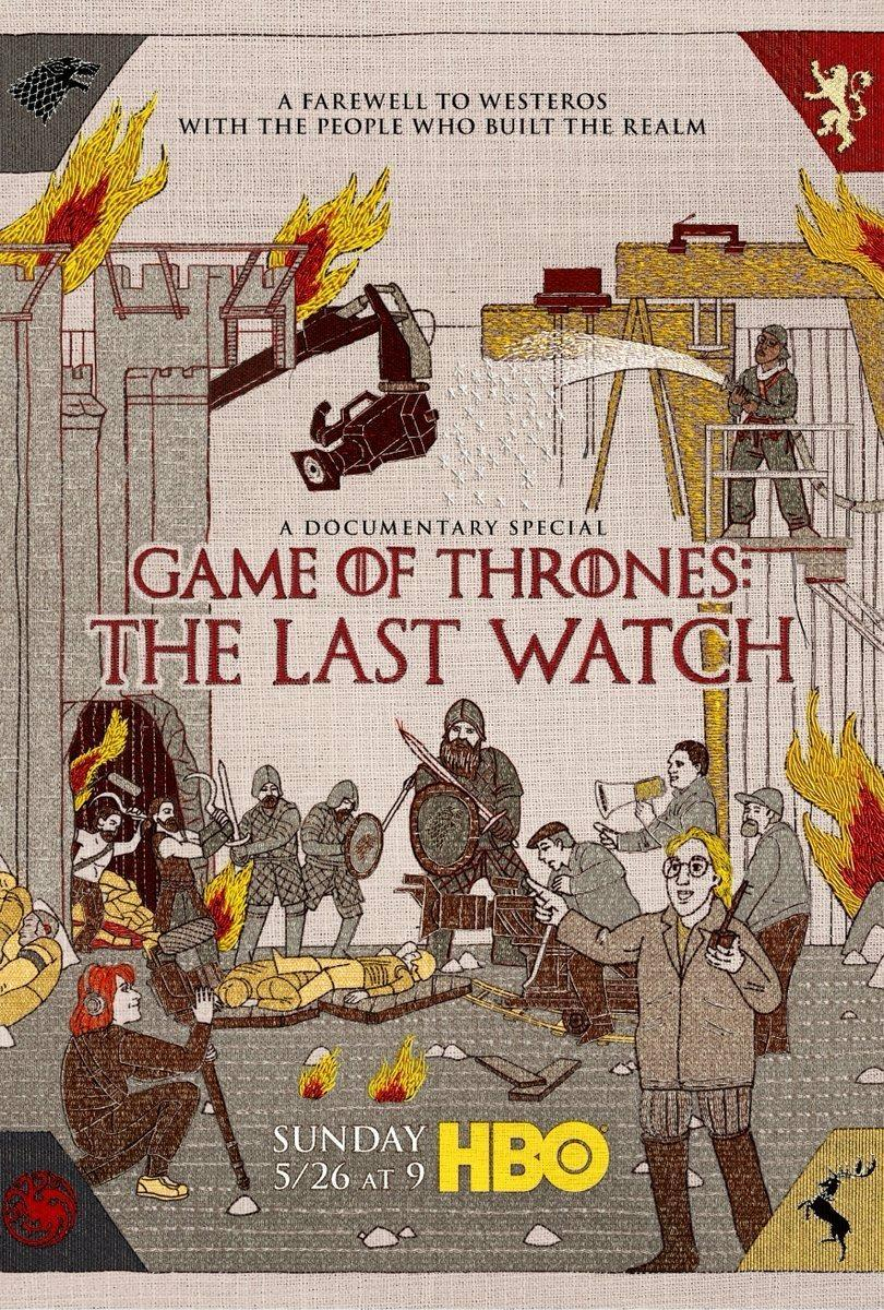Game of Thrones: The Last Watch (2019) WEB-DL 1080p Ingles Subtitulado