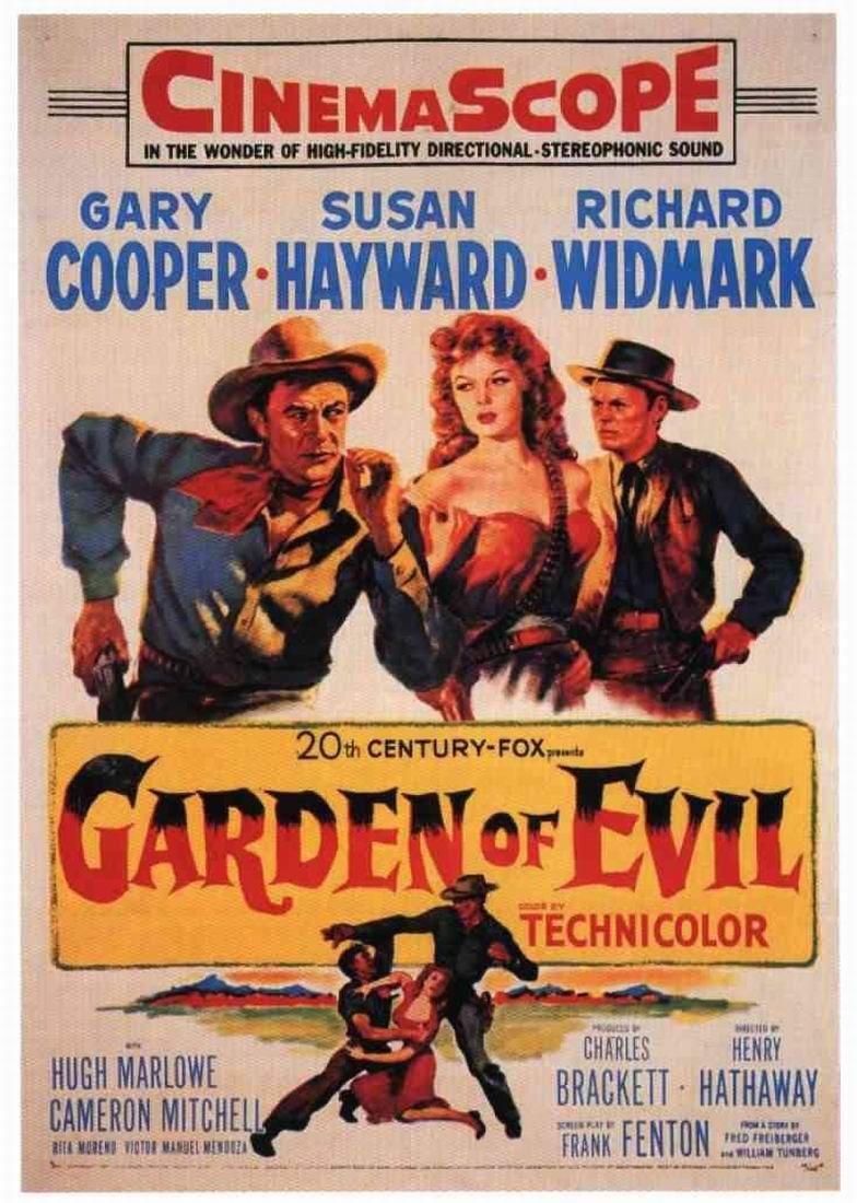 El jard n del diablo 1954 filmaffinity for Jardines del diablo