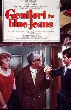 Genitori in blue-jeans