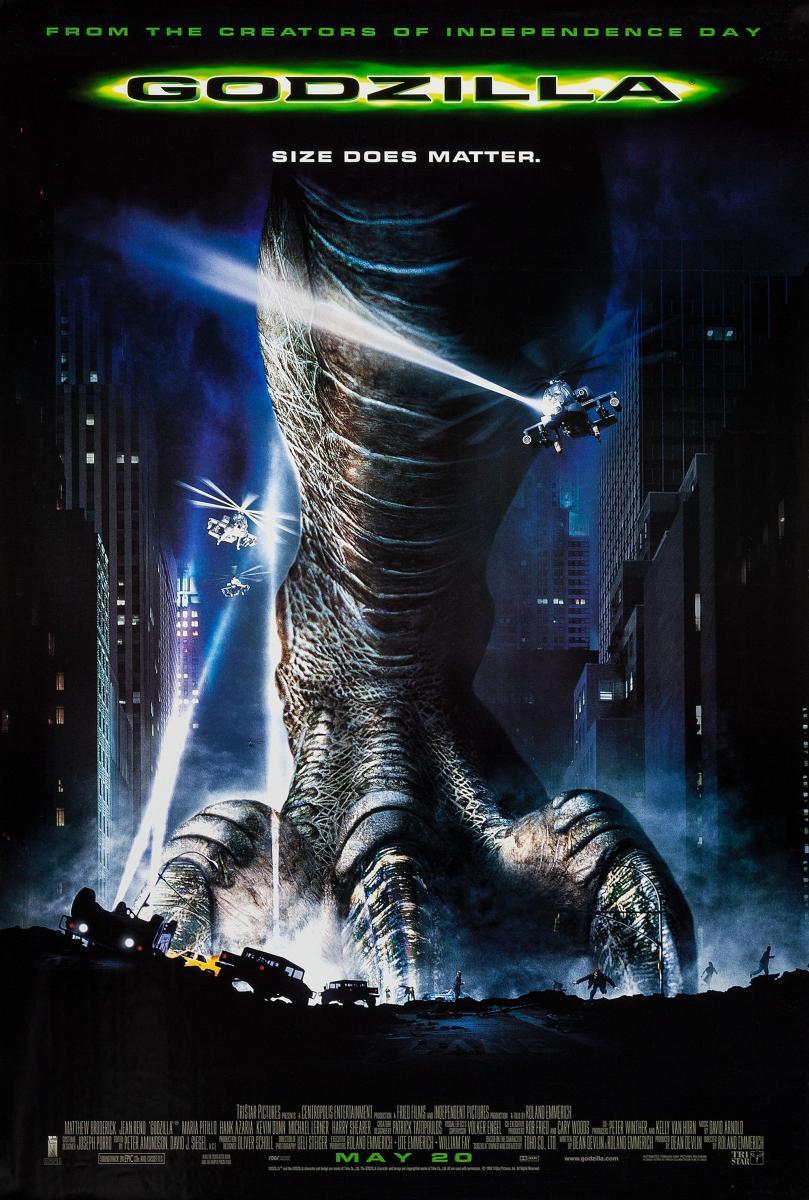 Godzilla [1998][Español Latino][1080p][MEGA]