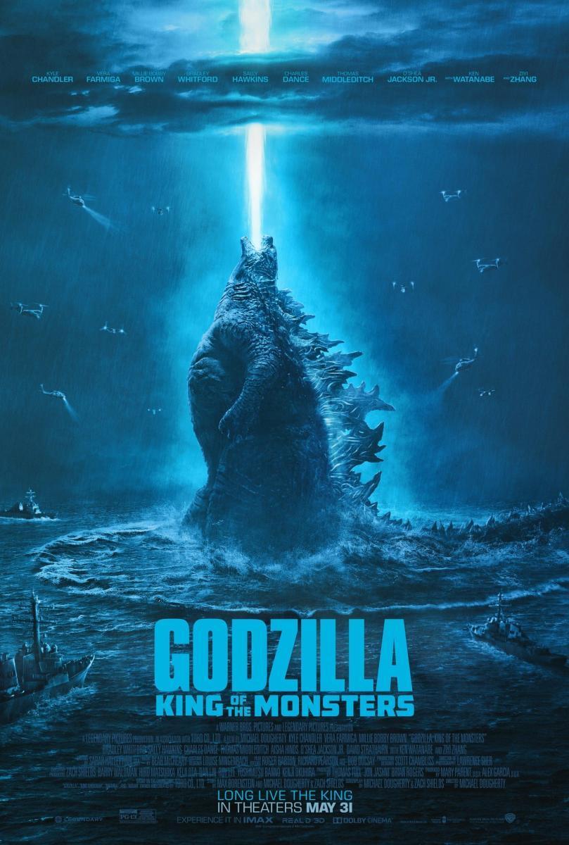 Godzilla II: El rey de los monstruos (HD-RIP)  [2019][Español Latino][1080p][MEGA]