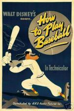 Goofy in How To Play Baseball (C)