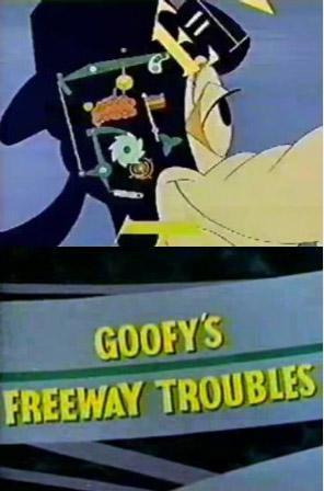 Goofy: Autopistafobia. Problemas en la autopista (C)