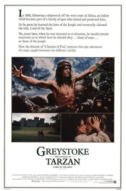 Greystoke: La leyenda de Tarzán, rey de los simios (1984) 1 LINK HD Uptobox