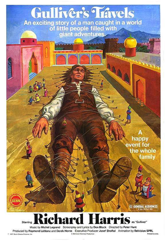 Los viajes de Gulliver (1977) FilmAffinity
