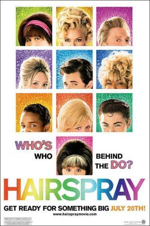 póster de la película musical Hairspray