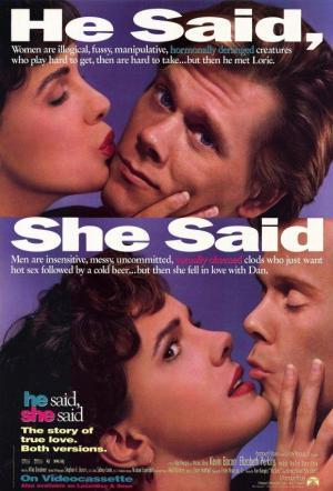 Él dijo, ella dijo