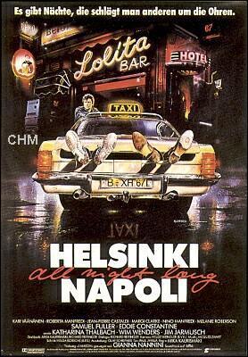 Helsinki-Nápoles, todo en una noche