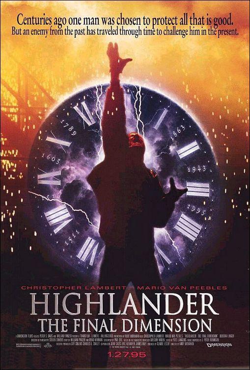 Highlander Iii The Final Dimension Highlander Iii The