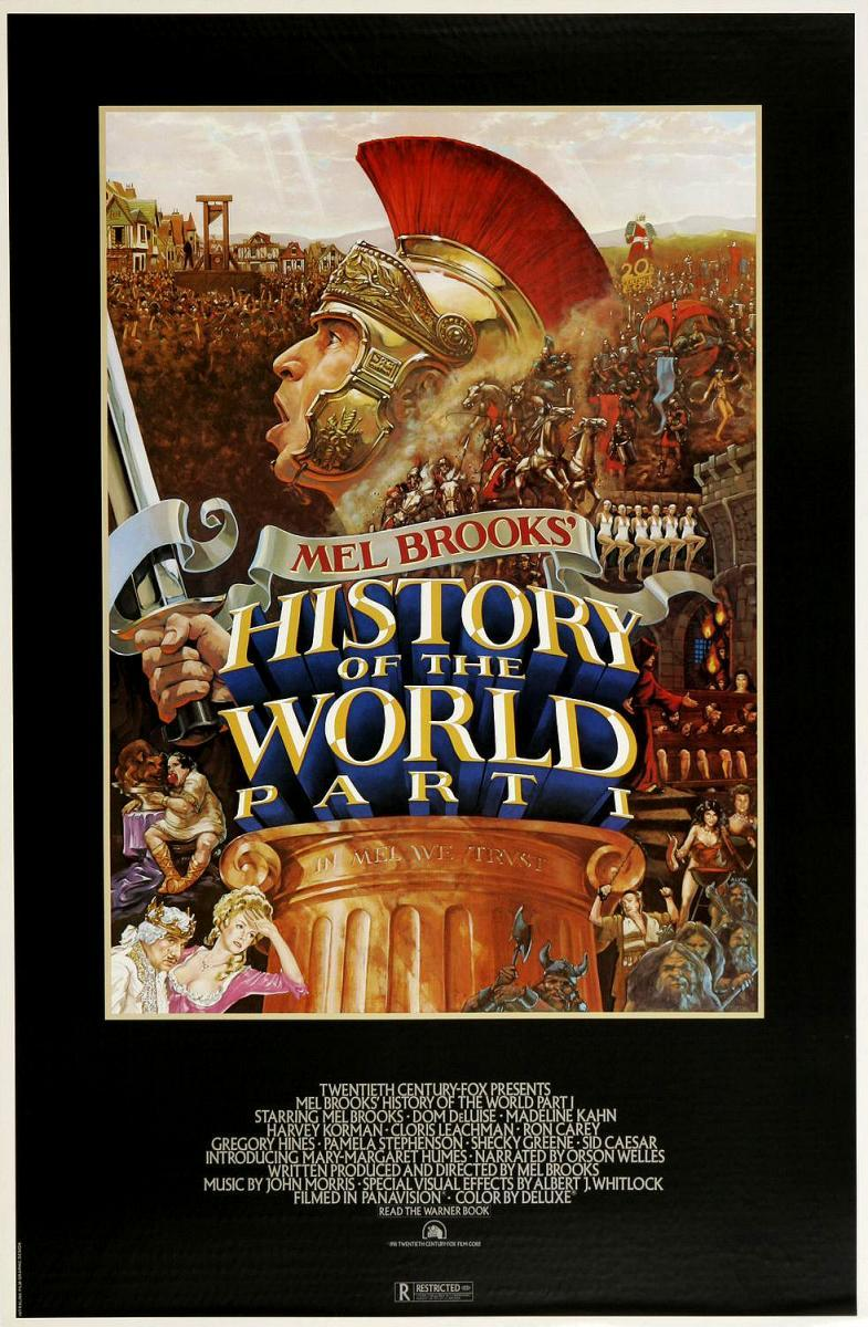 history of the world mel brooks