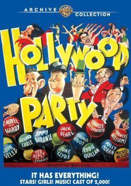 Una fiesta en Hollywood