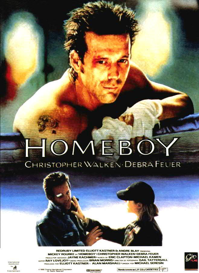 Risultati immagini per HOMEBOY ( 1988 ) POSTER