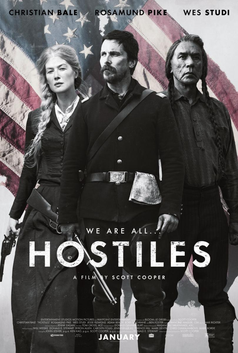 Hostiles: Violencia americana (2017) Full HD Gratis