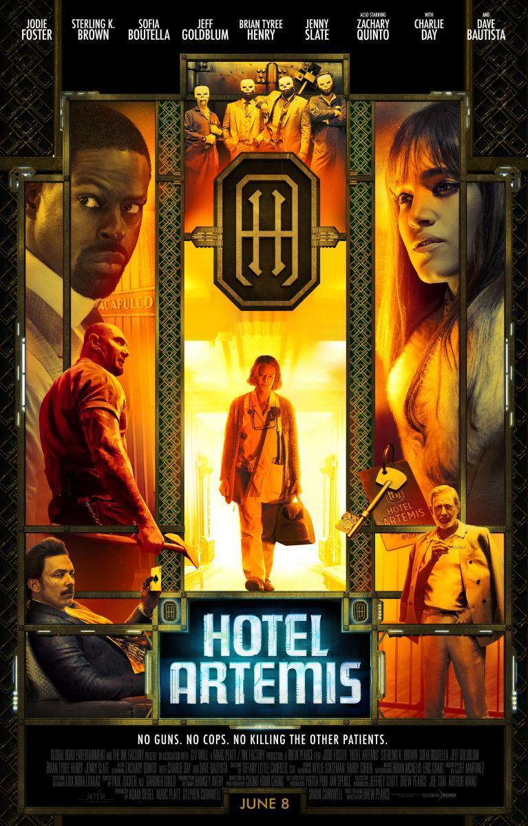 Hotel Artemis Trailer Deutsch
