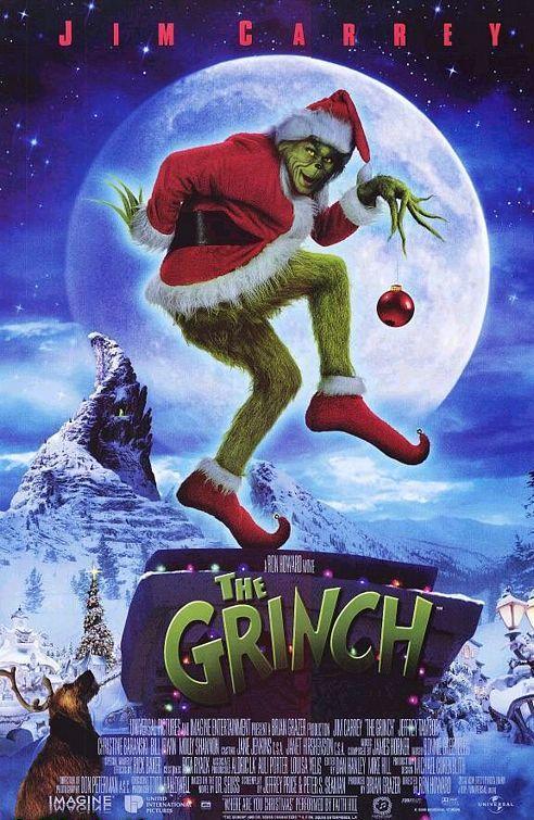 Resultado de imagen de el grinch 2000