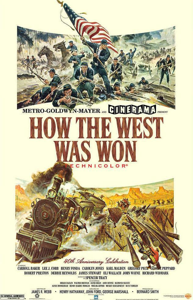 How the West Was Won (1962) - FilmAffinity
