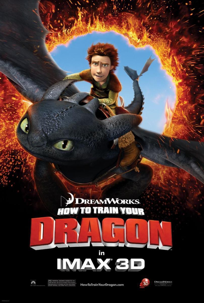 póster de Cómo entrenar a tu dragón