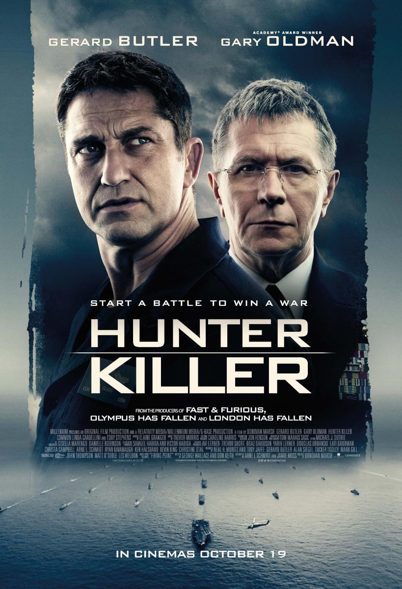 hunter killer german stream