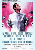 Doctor Tersilli, médico de la clínica Villa Celeste, afiliada a la mutua