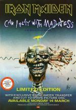 Iron Maiden: Can I Play with Madness (Music Video)