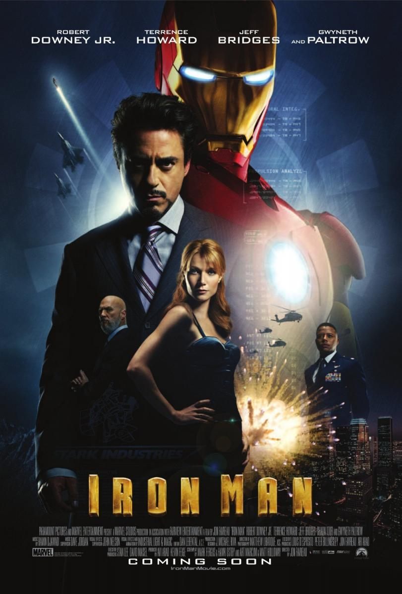 Iron Man – El Hombre De Hierro (2008) PLACEBO Full HD 1080p Latino – Ingles