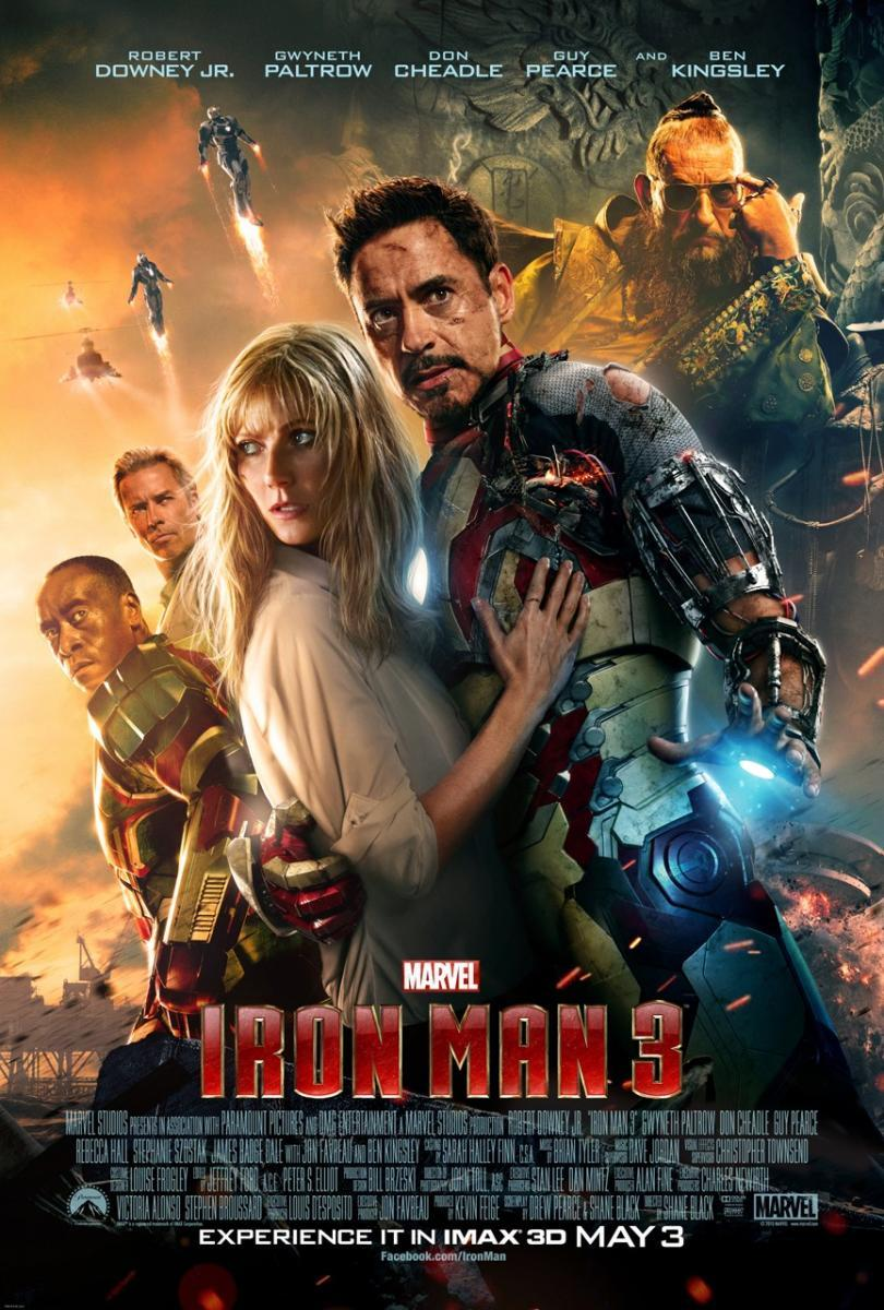 Iron Man 3 [2013] [1080p BRrip] [Latino-Inglés] [GoogleDrive]
