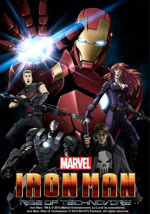Iron Man: La Rebelión Del Technivoro (2013) BRRip 1080p Latino – Ingles