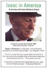 Isaac in America: A Journey with Isaac Bashevis Singer (American Masters)