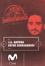 J. A. Bayona entre dinosaurios (TV)