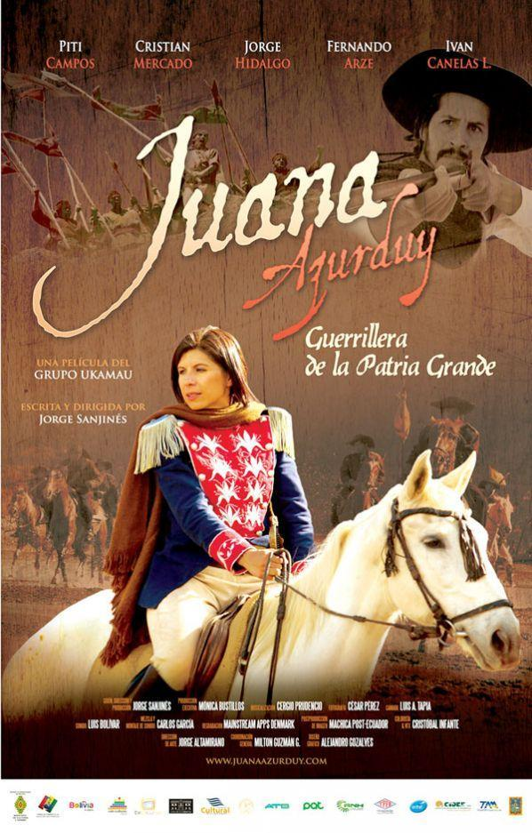 Juana azurduy guerrillera de la patria grande 2016 Resumen de la pelicula la habitacion