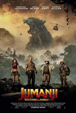 póster de la película Jumanji: bienvenidos a la jungla