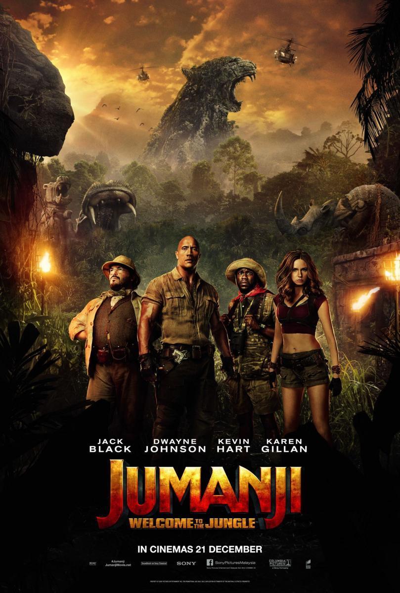 Jumanji: En la selva (2017) TS-HQ Latino 1 Link MEGA
