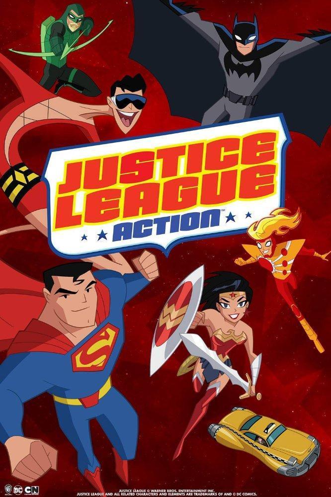 Justice League Action Temporada 1 [2016][Español Latino] [1080p][MEGA]