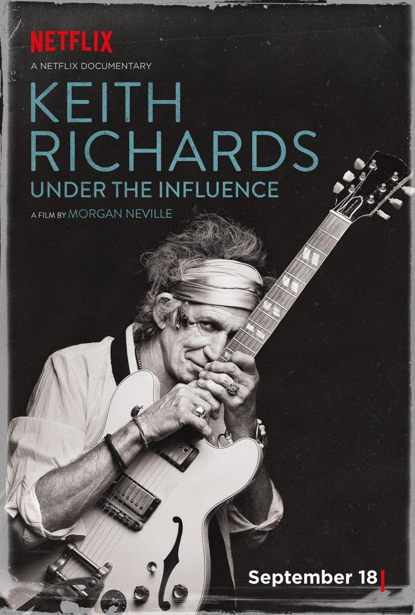 Keith Richards Under The Influence 2015