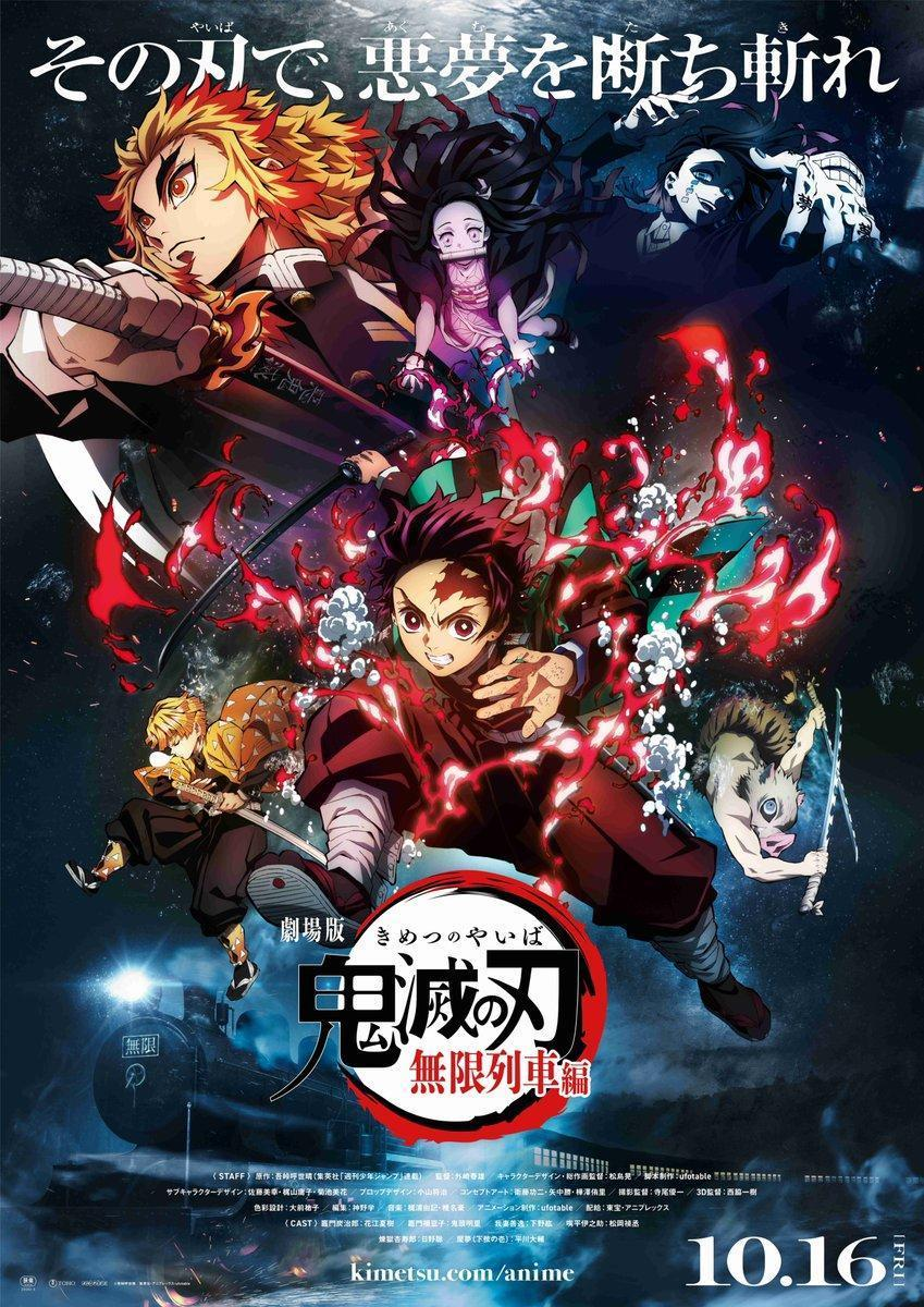 Demon Slayer the Movie: Mugen Train kimetsu no yaiba, pelicula