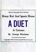 Krazy Kat and Ignatz Mouse: A Duet (C)