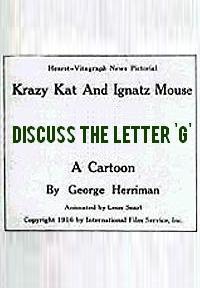 La Gata Loca y el Ratón Ignacio hablan de la letra 'G' (C)