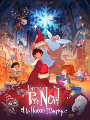El aprendiz de Papá Noel y el copo de nieve mágico