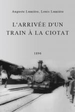 Llegada del tren a la estación de La Ciotat (C)
