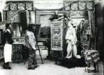 L'artiste et le mannequin (C)
