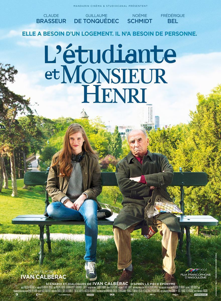 La estudiante y el Sr. Henri (2015) 1 LINK HD Latino