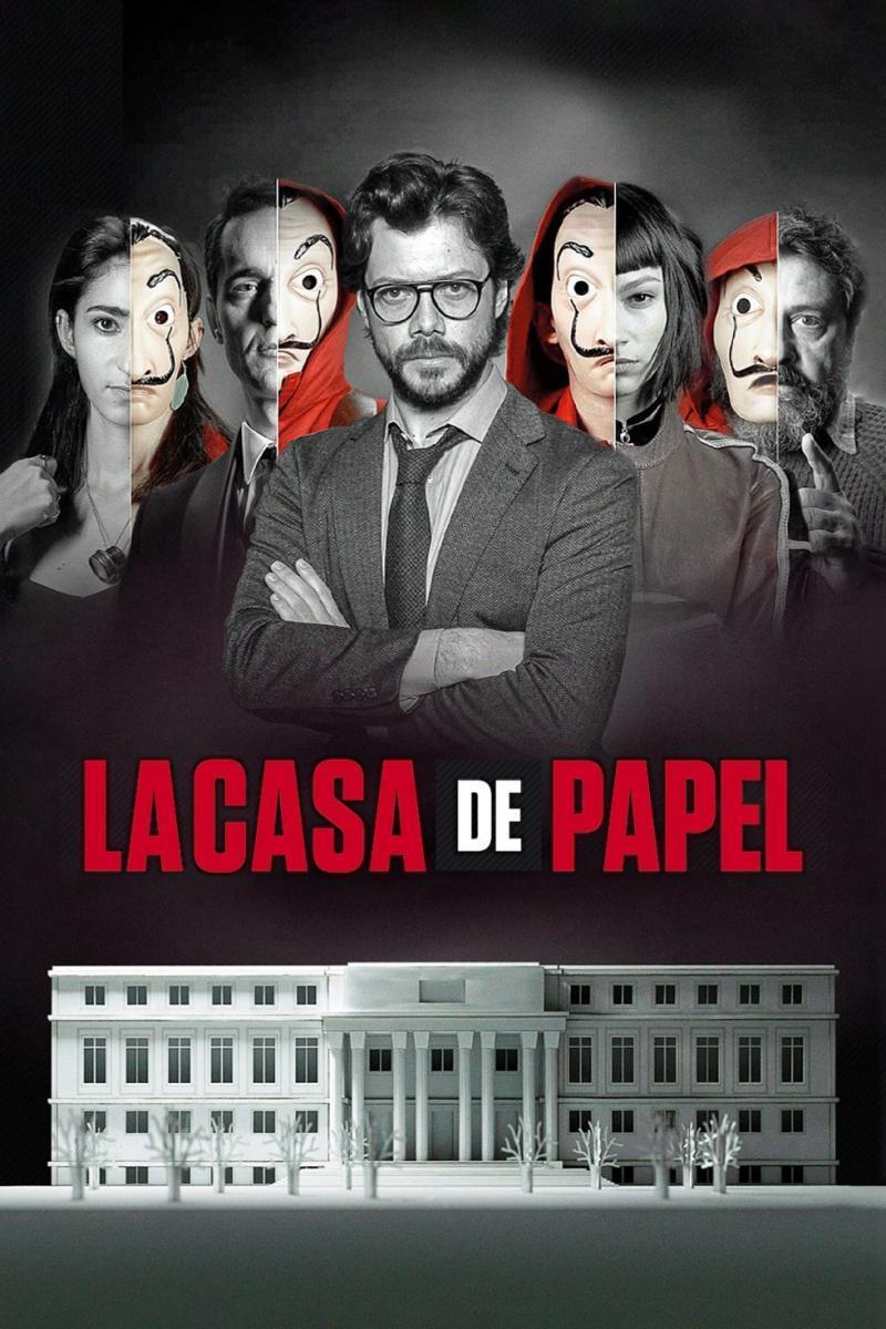 Serie de televisión La casa de papel, de Álex Pina - Cine de Escritor