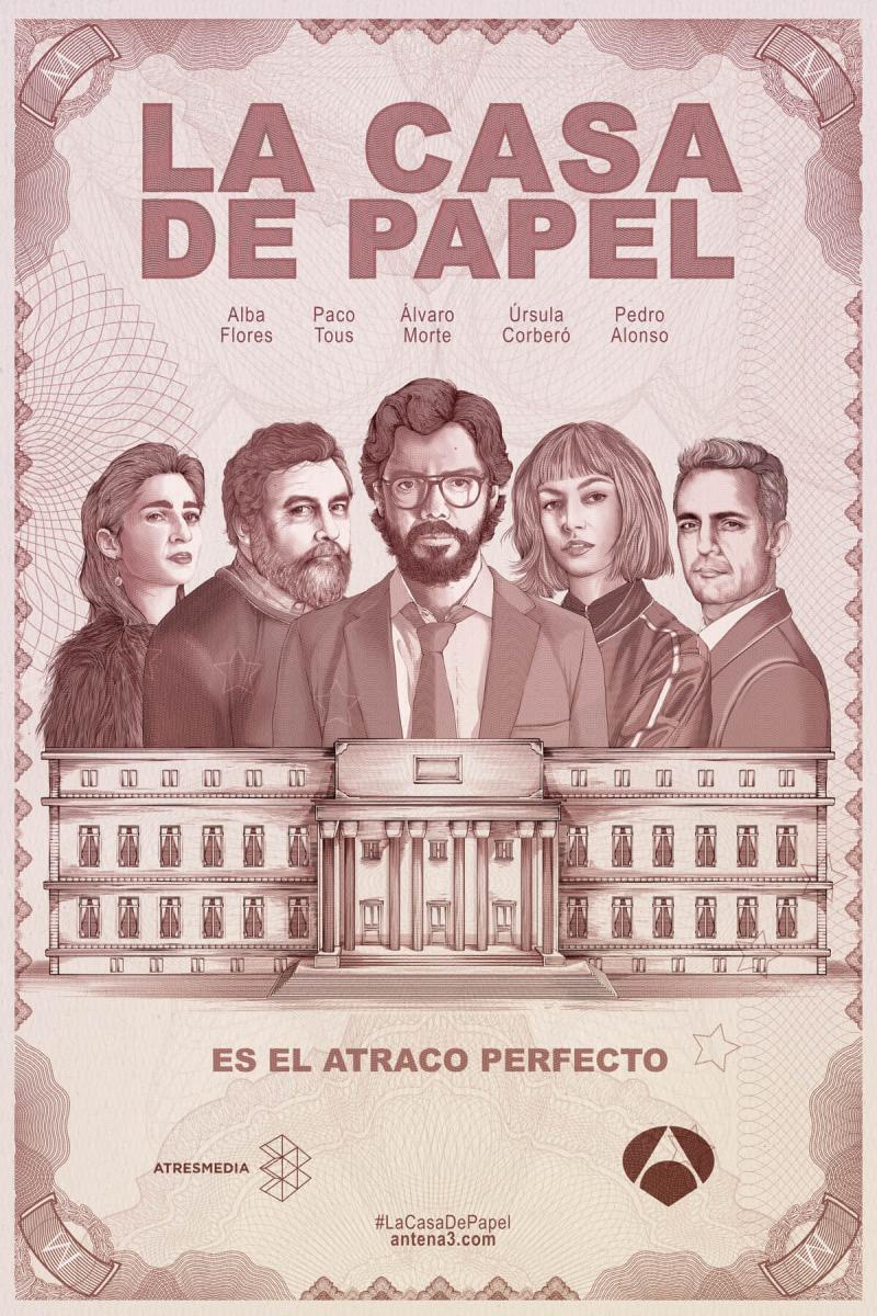 Resultado de imagen de LA CASA DE PAPEL FILMAFFINITY