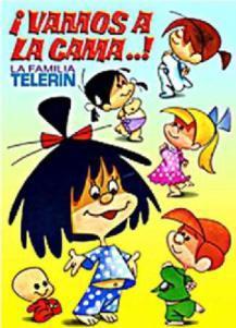 La familia Telerín: Vamos a la cama (TV) (C)