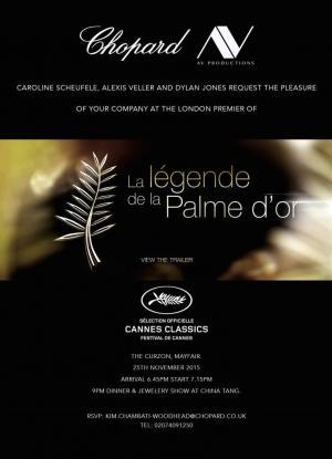La légende de la Palme D'Or
