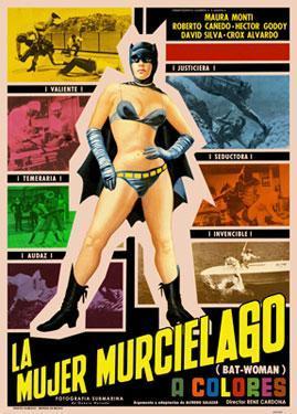 La mujer murciélago (Bat-Woman)